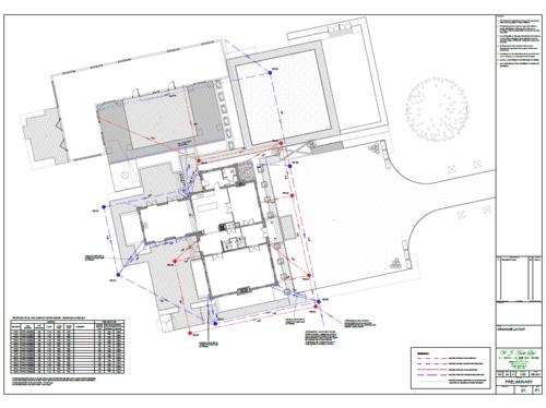 Drainage plans