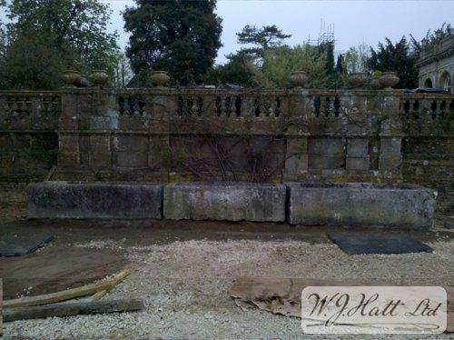 Circulating water trough #1