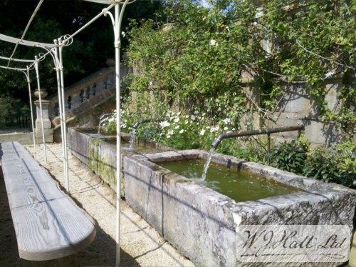 Circulating water trough #4