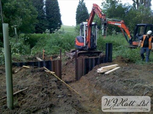 Sluice Gate Construction